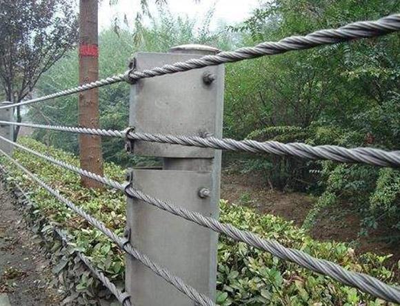 西藏缆绳护栏